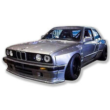 for 84-91 BMW 3 Series E30 coupe wide body kit 50/70mm wider lip wing
