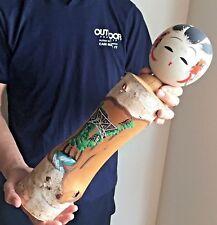 46.2cm Super Jumbo Kokeshi Kurobe Canyon Japan Antique No.KR722