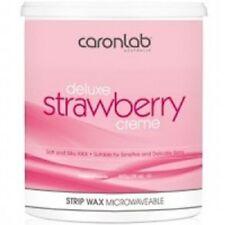 CARON Deluxe Strawberry Creme Strip Wax 800g Professional Size