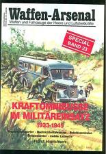 Armi-Arsenale autobus in uso militare 1922-1945