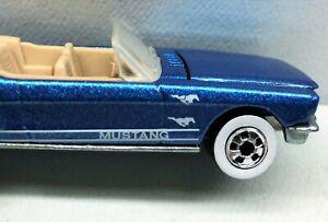 Hot Wheels '65 Mustang Convertible Tampo Error Extra Pony! Metalflake Malaysia