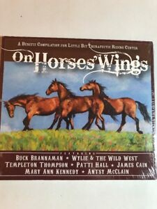 On Horses Wings A Benefit Compilation Country Cd Little Bit Riding Center