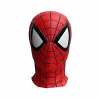 The Amazing Spider Man Rubber Mask Comic version Marvel Costume Cosplay Party