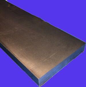 """3/8"""" x 4"""" x 12""""-Long CR1018 Steel Flat Bar->.375"""" x 4""""Steel Flat Bar MILL STOCK"""