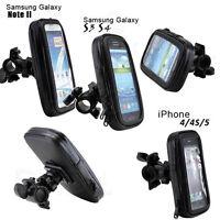 Waterproof Bike Bicycle Mount Holder Cradle Phone Case Cover Bag Pouch Handlebar