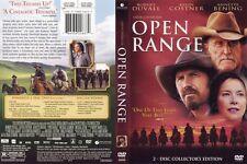 Open Range (DVD NTSC, 2-Disc Set) Robert Duvall, Kevin Costner, Annette Bening