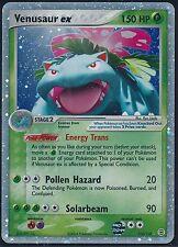 > Pokémon Karte Venusaur ex / Bisaflor ex 112/112 - EX Feuerrot & Blattgrün - NM