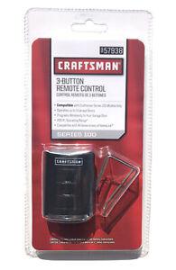 Craftsman 3 Button Remote Control Garage Door Opener - 57938 Series 100