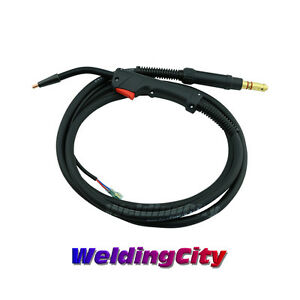 MIG Gun 100A 10-ft Flux-Core Gasless 100L-FC Replacement for K530-3B   US Seller
