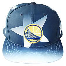 Mitchell & Ness NBA Golden State Warriors Classic Snapback Hat Star Pattern Cap