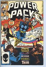 Power Pack issue 19 / Guess who coming to Dinner? / Marvel Comics / February 198