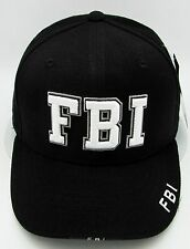Rapid Dominance FBI Ball Cap Hat US Law Enforcement 3DEmbroidered Adult OSFM NWT
