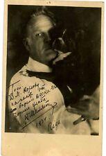 Feodor Ivanovich Chaliapin autograph
