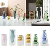 Glass Terrarium Vase Planter Flower Cuttings Holder Propagation Station for