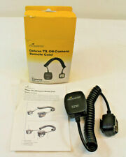 Promaster Deluxe TTL Off-Camera Remote Cord -Canon Digital and film cameras 4211