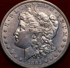 Uncirculated 1884-S San Francisco Mint Silver Morgan Dollar