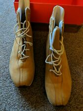 Timberland hi top boots 6 honey suede ankle lace up