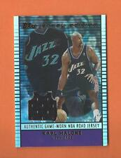 2002-03 TOPPS JERSEY EDITION KARL MALONE GAME-USED JERSEY #JE-KM UTAH JAZZ