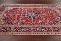 Vintage Traditional Floral Kashaan Area Rug Hand-made Bedroom Carpet Wool 6x10