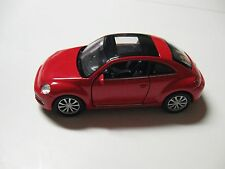 1:38 SCALE WELLY VW VOLKSWAGEN THE BEETLE DIECAST PULLBACK W/O BOX