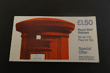 GB Folded Stamp Booklet FP1A 1986 Write Now Pillar Box 10% OFF ANY 5+