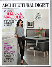 Architectural Digest JULIANNA MARGULIES at home - Worlds New Buildings -FEB 2014