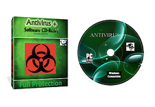 Antivirus Seguridad spyware protección de datos de CD de software para Todos Los Windows