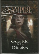 Sealed Spanish Deck Guarida de los Diablos Den of Fiends from Black Chantry VTES