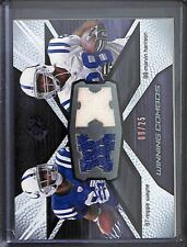 2008 Upper Deck SPx Football Winning Combo #WC16 Harrison and Wayne No 9 of 25