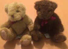 "2 Small Russ Bears: Rothschild And Chadsworrh 6"""
