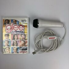 Nintendo Wii Karaoke Revolution Glee Game With Microphone