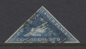 CAPE OF GOOD HOPE - 1863/64 4d 3 MARGINS FINE USED SG.19a (REF.E22)