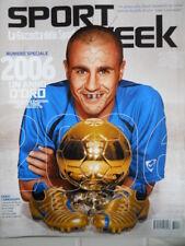 Sport Week n°48 2006 Fabio Cannavaro mondiale e Pallone d'Oro [GS.51]