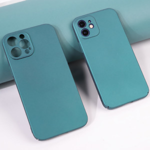 Sandstone Back Case For iPhone 13 11 12 Pro Max mini Hard Matte Cover ultra slim