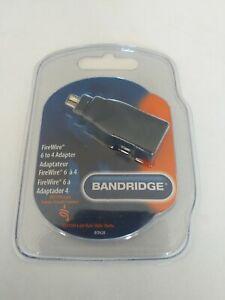BANDRIDGE Firewire 6-Pin Firewire 6-Pin Female To 4-Pin Adapter UK IEEE 1394