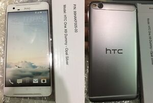 **High Quality**  Dummy HTC One X9 Opal Silver  display toy (not real phone)
