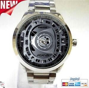 Mazda RX8 Turbo Rotary Engine Sport Unisex Adult Wristwatches Limited Edition