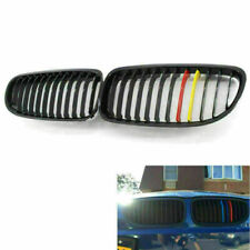 Front Gloss Black M-Color Red Yellow Grille Grilles for BMW E90 09-11