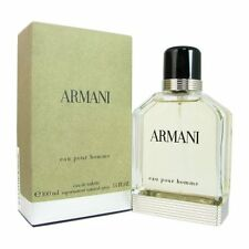 Armani Eau Pour Homme by Giorgio Armani 3.4 oz EDT Cologne for Men New In Box