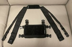 Spiritus Systems Mirco fight MK 4 Rig BLACK + Fat strap NEW