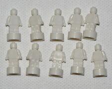 LEGO LOT OF 10 WHITE STATUETTE TROPHIES STATUE PIECES PARTS