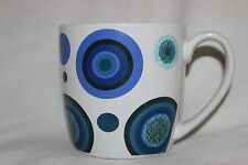Mug Cup Tasse à café  Rayware Scope Blue Round Spots