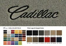 Lloyd Mats Cadillac Custom Embroidered Velourtex Front Floor Mats (1941-2001)
