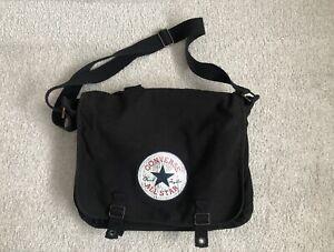 Converse Canvas Shoulder Bag Black