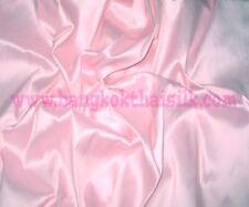 BABY PINK 100% PURE SILK FABRIC for BRIDESMAID DRESS DRAPE SKIRT SHIRT SCARF