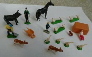 Micro Action Toy Farm Figures - Lot of 19