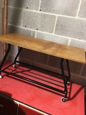Vintage Retro Teak Danish Style Mid Century Coffee Table Television TV