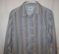 Mens Guess Size L Long Sleeve Button Up Casual Shirt