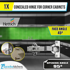 Hettich Concealed Hinge Corner Cabinets 45 Degree Face Angle