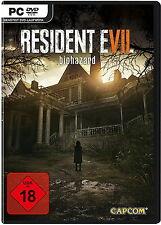 Resident Evil 7 Biohazard PC Spiel NEU Nur 3 Tage!! DHL mit Altersnachweis 6,99€